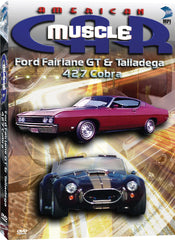 American Muscle Car: Ford Fairline GT, Ford Talladega, 427 Cobra - Box Art