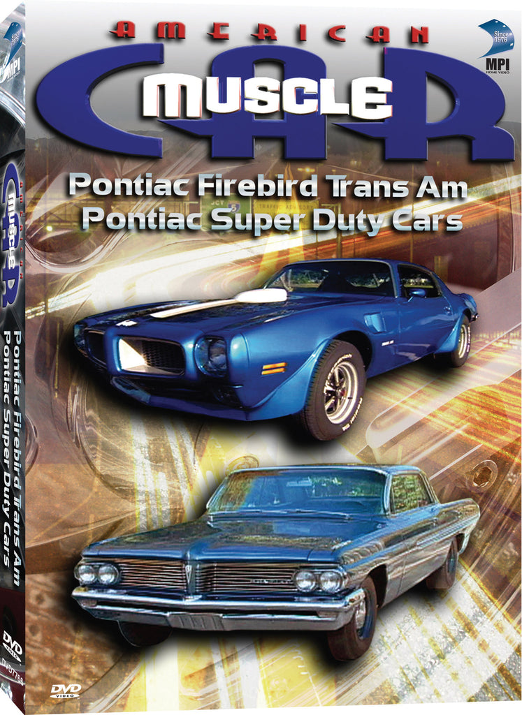 American Muscle Car: Pontiac Firebird TransAm, Pontiac Super Duty Cars - Box Art