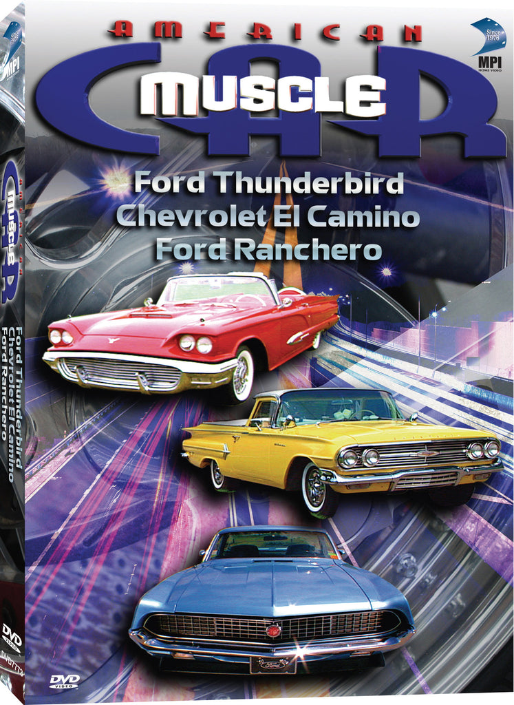 American Muscle Car Ford Thunderbird Chevrolet El Camino Ford - Chevrolet ford