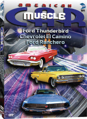 American Muscle Car: Ford Thunderbird, Chevrolet El Camino, Ford Ranchero - Box Art