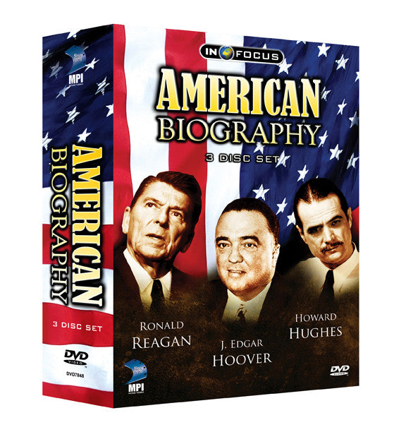 American Biography: 3-Disc Set - Box Art