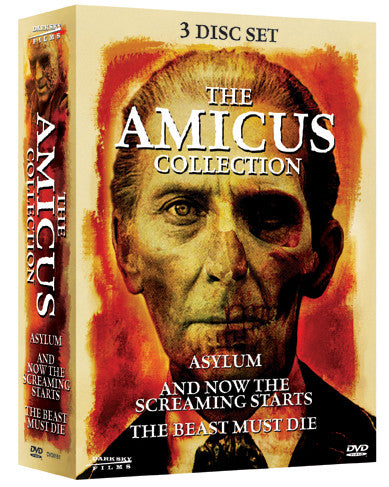 Amicus Collection (Asylum / And Now Screaming Starts / Beast Must Die), The - Box Art