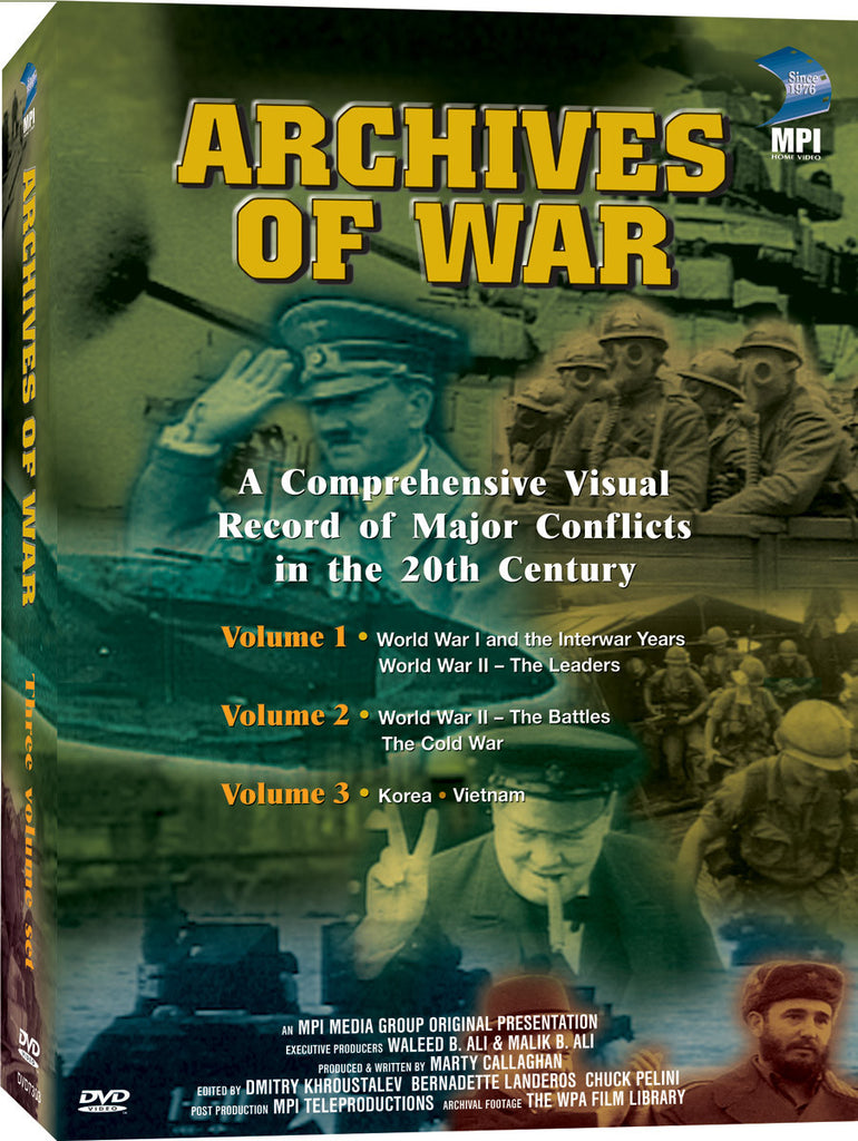 Archives of War: 3-Volume Box Set - Box Art