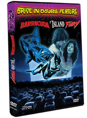 Drive-In Double Feature: Barracuda / Island Fury - Box Art