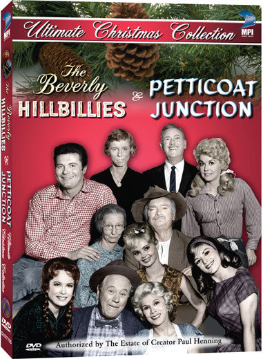Petticoat Junction and Beverly Hillbillies: Ultimate Christmas Collection, The - Box Art