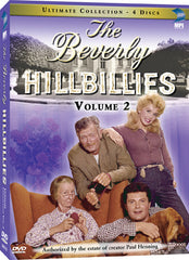 Beverly Hillbillies Ultimate DVD Collection Volume 2, The - Box Art