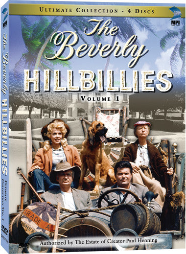 Beverly Hillbillies Ultimate DVD Collection Volume 1, The - Box Art