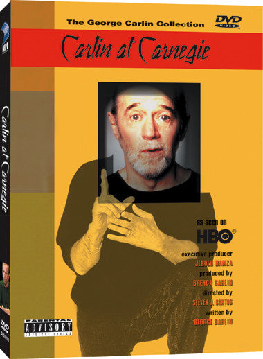 Carlin at Carnegie - Box Art