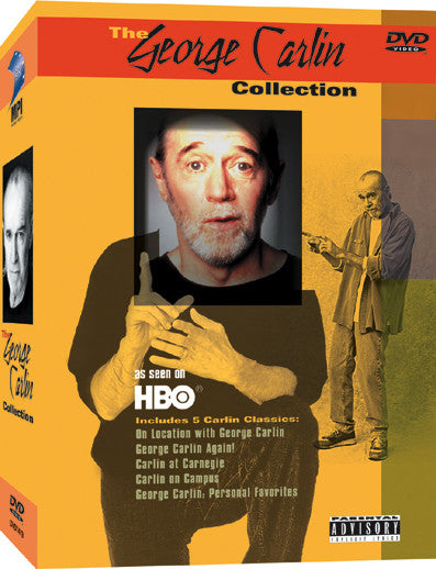 George Carlin Collection, The - Box Art