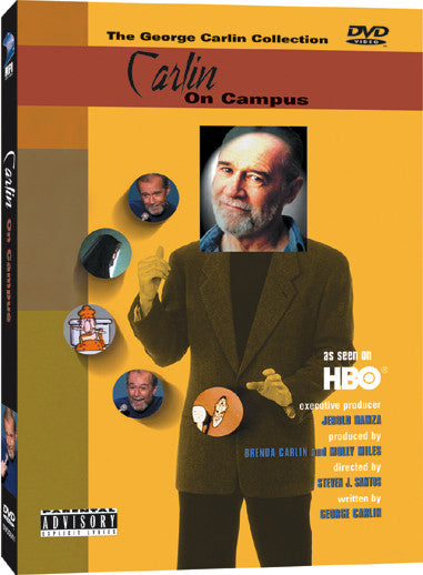 Carlin on Campus - Box Art