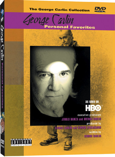 George Carlin Personal Favorites - Box Art