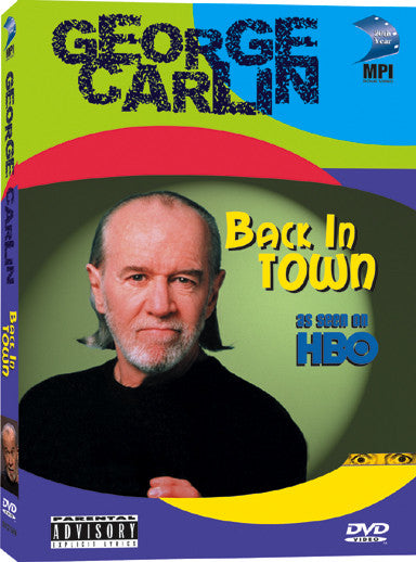 George Carlin: Back in Town - Box Art