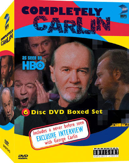 Completely Carlin DVD Collection - Box Art