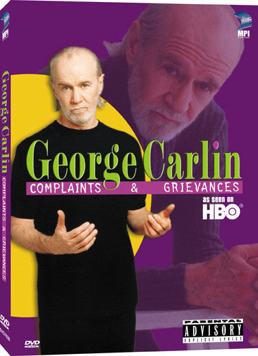 George Carlin: Complaints and Grievances - Box Art
