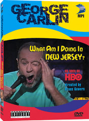 George Carlin: What Am I Doing in New Jersey - Box Art