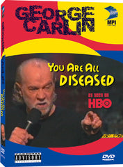George Carlin: You are all Diseased - Box Art