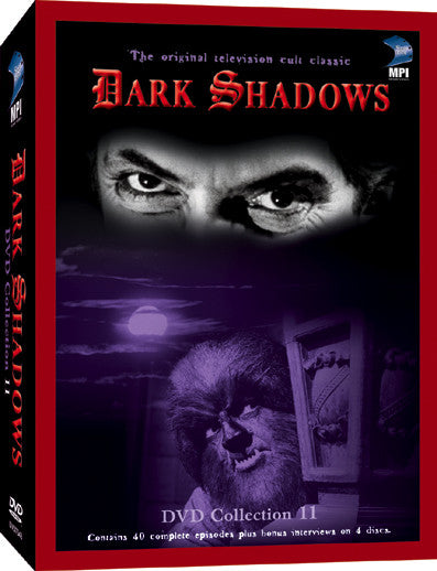Dark Shadows DVD Collection 11: 40 Episodes on 4 Discs - Box Art