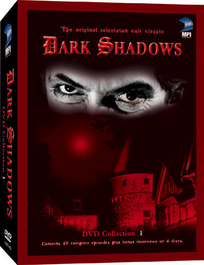 Dark Shadows DVD Collection 01: 40 Episodes on 4 Dics - Box Art