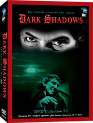 Dark Shadows DVD Collection 20: 40 Episodes on 4 Discs - Box Art