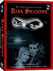 Dark Shadows DVD Collection 21: 40 Episodes on 4 Discs - Box Art