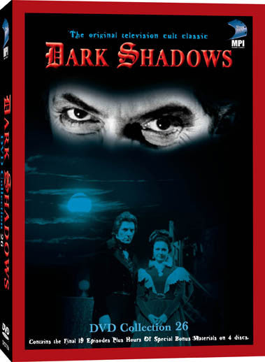 Dark Shadows DVD Collection 26: 4 Discs - Box Art
