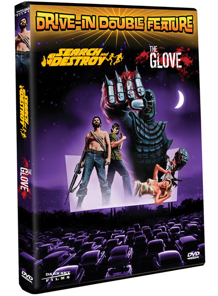 Drive-In Double Feature: Invasion of the Neptune Men / Prince of Space - Box Art