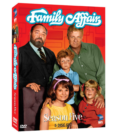 Family Affair: Season 5 - Box Art