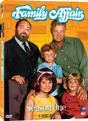 Family Affair: Season 1 - Box Art