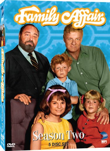 Family Affair: Season 2 - Box Art