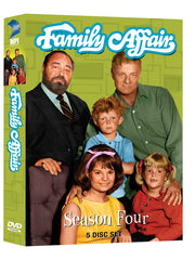 Family Affair: Season 4 - Box Art
