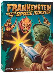 Frankenstein Meets the Spacemonster - Box Art
