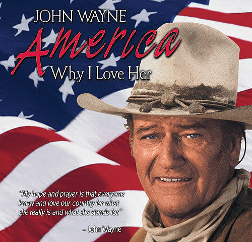 John Wayne: America, Why I Love Her - Box Art