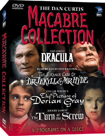 Dan Curtis Macabre Collection, The - Box Art