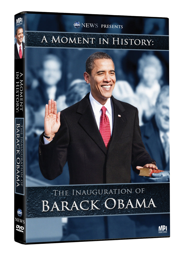 A Moment In History: The Inauguration of Barack Obama - Box Art