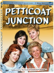 Petticoat Junction Ultimate DVD Collection - Box Art