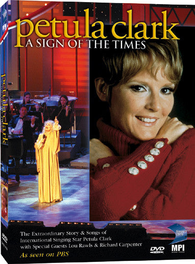 Petula Clark: A Sign of the Times - Box Art