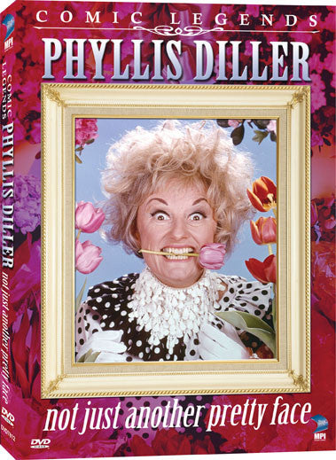 Phyllis Diller: Not Just Another Pretty Face - Box Art