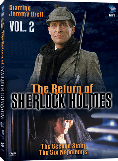 Return of Sherlock Holmes: Volume 2, The - Box Art