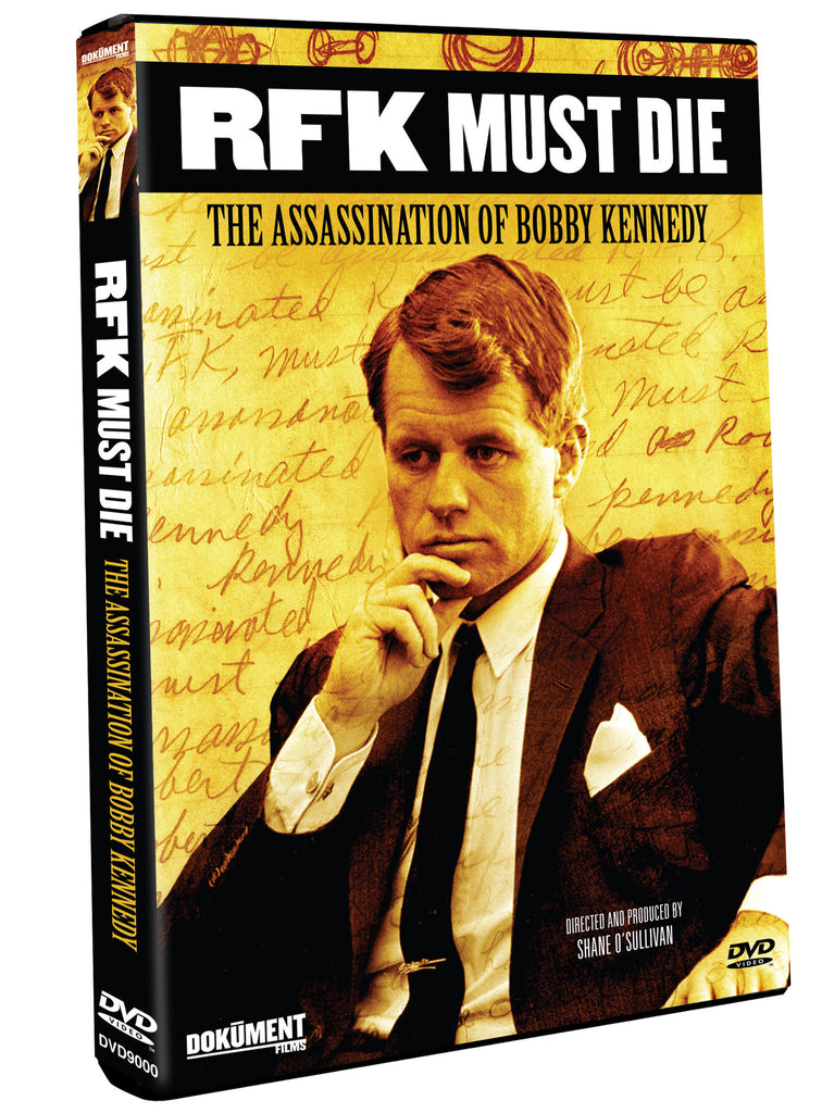 RFK Must Die: The Assassination of Bobby Kennedy - Box Art