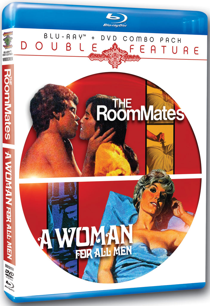 The Roommates / A Woman For All Men (Blu-ray/DVD Combo)