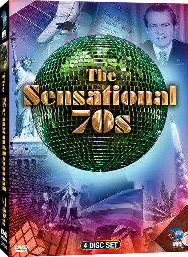 Sensational 70s DVD Collection, The - Box Art