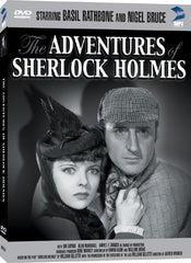 Adventures of Sherlock Holmes, The - Box Art
