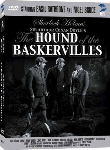 Sherlock Holmes: The Hound of the Baskervilles starring Basil Rathbone - Box Art
