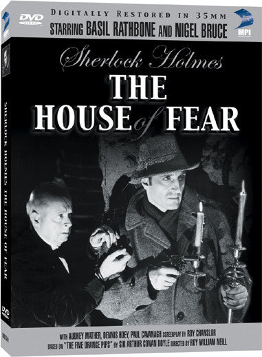 Sherlock Holmes and the House of Fear - Box Art
