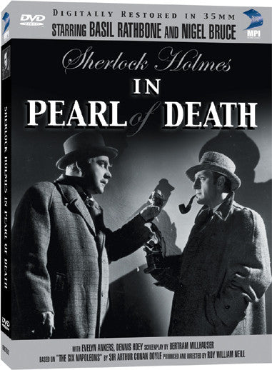 Sherlock Holmes and the Pearl of Death - Box Art