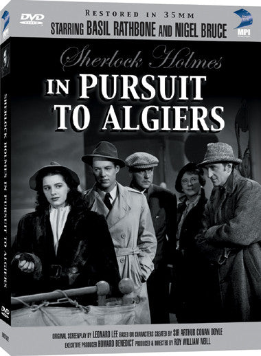 Sherlock Holmes Pursuit to Algiers - Box Art