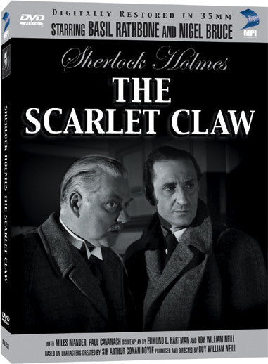 Sherlock Holmes and the Scarlet Claw - Box Art