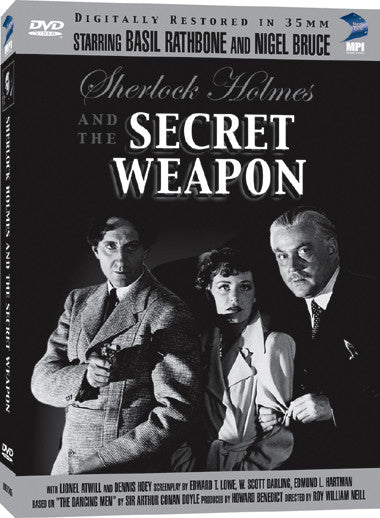 Sherlock Holmes and the Secret Weapon - Box Art