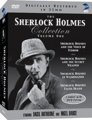 Sherlock Holmes DVD Collection Volume 1, The - Box Art