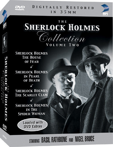 Sherlock Holmes DVD Collection Volume 2, The - Box Art